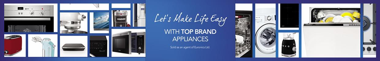 Euronics Appliances Make Life Easier banner